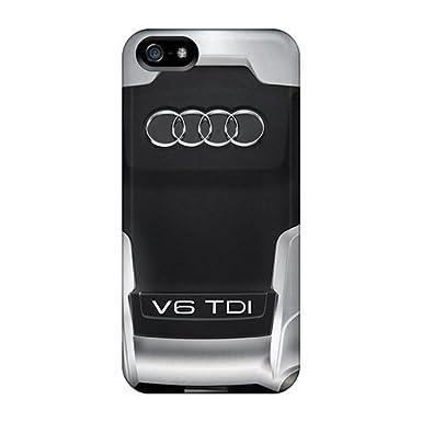 0349f986ef Case Cover Iphone 5/5s Protective Case Audi V6 Tdi Engine: Amazon.co.uk:  Electronics