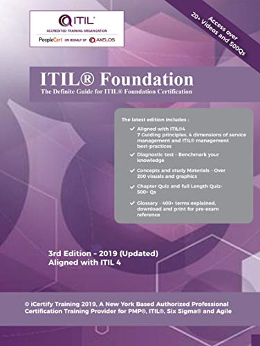ITIL 4 Foundation Certification Guide Includes 20 Videos And 6 Practice Tests To Get You Certified