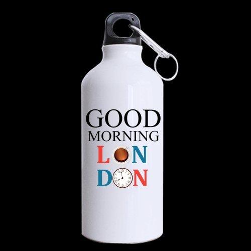 Custom Guten Morgen London Design Aluminium Weiss Sport