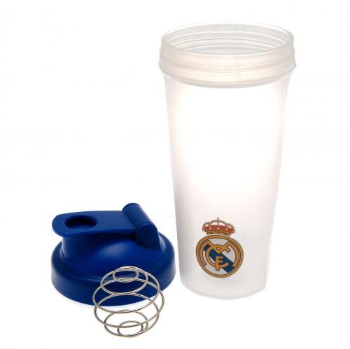Real Madrid FC Football Club Sport Flasche Fl/äschchen Protein Shaker Geschenk