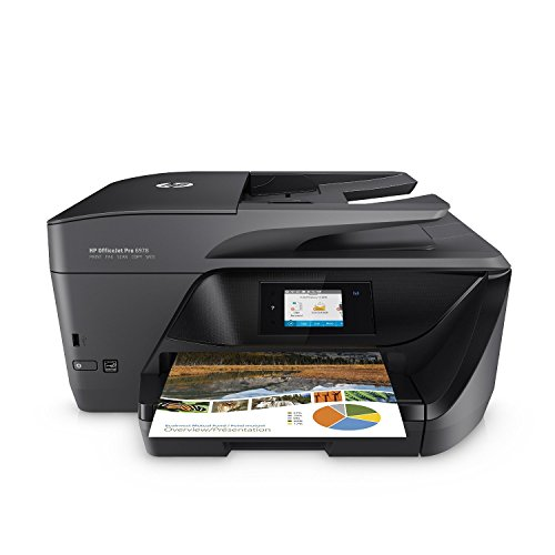 HP OfficeJet Pro 6978 All-in-One Wireless Printer with Mobile Printing, HP Instant Ink & Amazon Dash Replenishment Ready (T0F29A) from HP