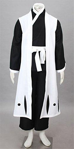 [Vicwin-one Bleach 10th Division Captain Hitsugaya Toushirou Cosplay Costume Outfits] (Hitsugaya Cosplay Costume)