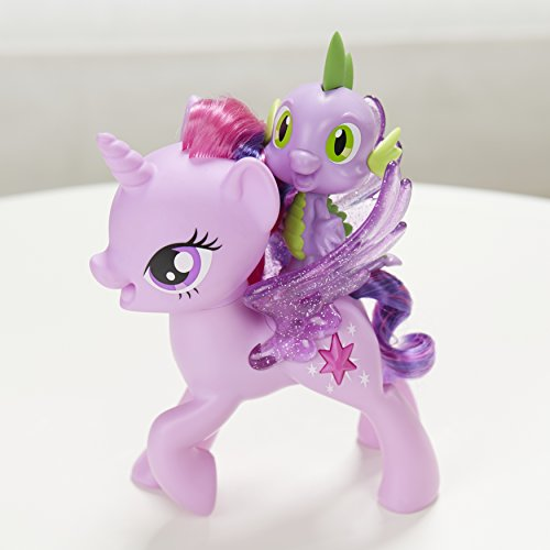 Mi Princesa de Twilight Sparkle de My Little Pony Espiga El Dragón amistad Duet