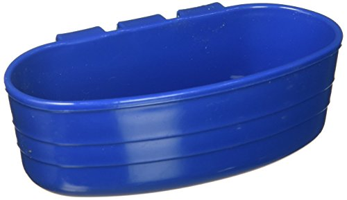 (Miller Manufacturing ACU1BLUE 1/2 Pint Cage Cups, Blue)