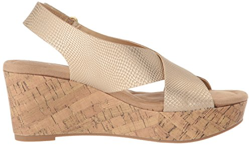 Cl Par Chinese Laundry Womens Dream Girl Wedge Sandale Serpent Dor