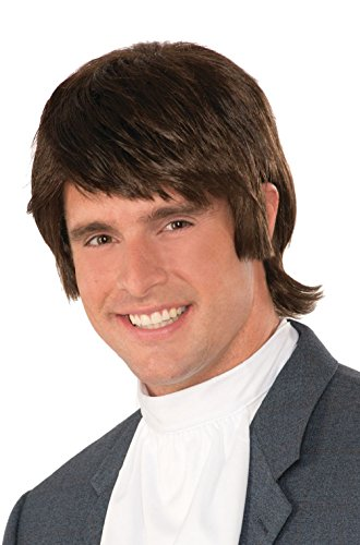 unbrand 60s Shag Beatles Hairdos Adult Wig]()