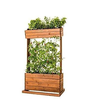 Vertikales Hochbeet Cube2 Seilrankhilfe Blumenkasten Pflanzkubel