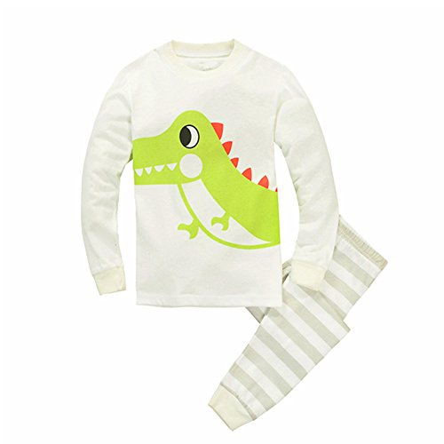 Dinosaur Little Sleeve Pajama Cotton