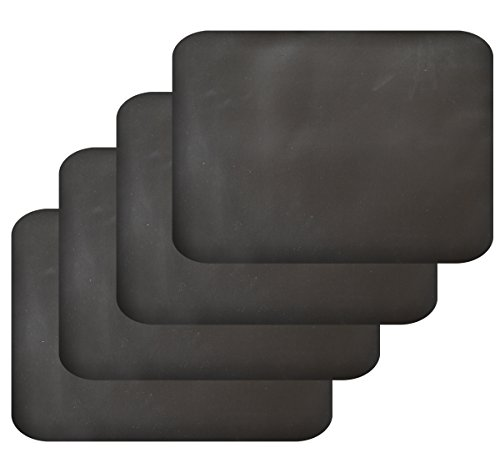 Firefly Craft Chalkboard Placemats, Set of 4