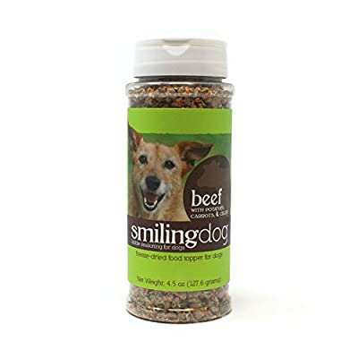 Herbsmith Kibble Seasoning– Dog Food Topper for Picky Eaters – Gluten + Grain Free – Made in USA