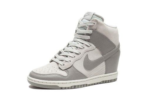 najlepiej kochany wykwintny design 100% najwyższej jakości Nike Dunk Sky HI Women Sneaker Wedge Canyon Grey/White 528899-005 (SIZE: 9)
