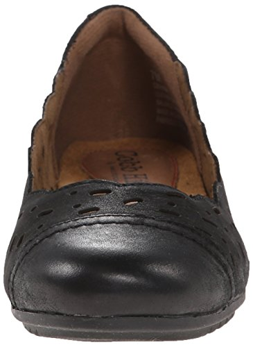 Rockport Cobb Hill Womens Ida Ch Flat Nero