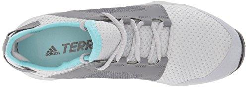 Adidas Outdoor Donna Terrex Voyager Dlx W Scarpa Da Passeggio Grigio Due / Grigio Quattro / Bianco Gesso