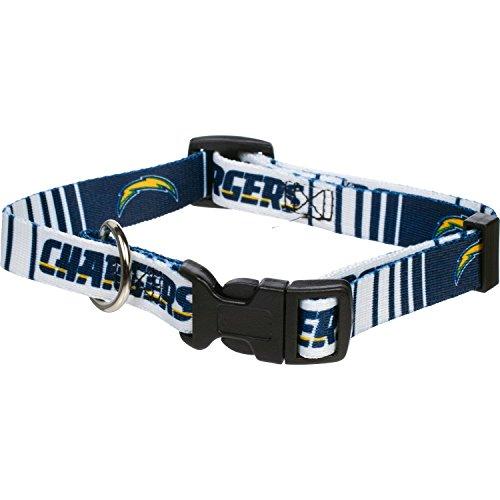 San Diego Chargers Dog Collar - Medium (Chargers Collar Dog San Diego)
