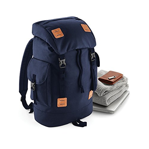 Bagbase Urban Explorer Rucksack Marineblau-dusk/Hellbraun
