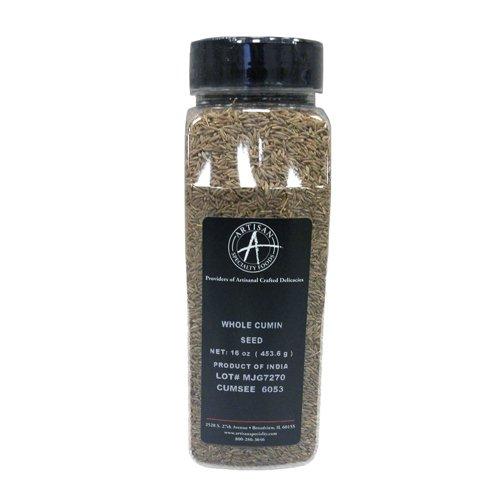 Whole Cumin Seeds - 16 oz