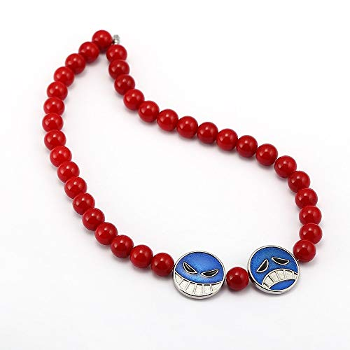 one piece ace necklace - 5