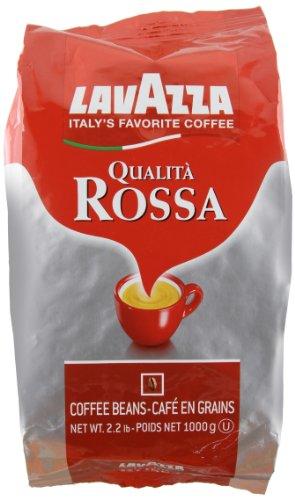 Lavazza Qualita Rossa, Italian Coffee Beans Expresso, 2.2 pound