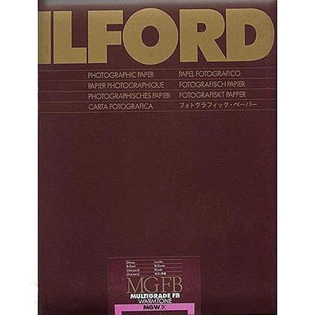 Ilford Multigrade Fiber Base Warmtone Glossy 11x14 inch 10 Sheets