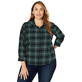 Carhartt Women's Rugged Flex Hamilton Shirt (Regular and Plus Sizes)