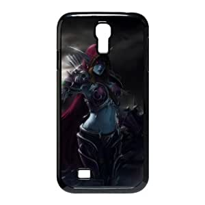 samsung s4 9500 phone case Black Sylvanas Windrunner World of Warcraft WOW TTR6921439