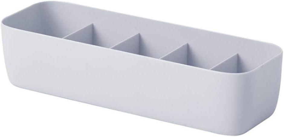 Fdit Organizador de Almacenamiento de pl/ástico Colourful cajones apilables 3//5/Celdas Box divisores para Sujetador Tie /íntimo cosm/éticos cosm/éticos Medicina Caja del Organizador