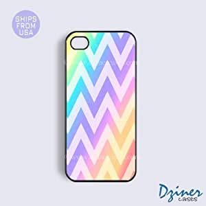 iPhone 6 Plus Tough Case - 5.5 inch model - Rainbow Chevron iPhone Cover by mcsharks