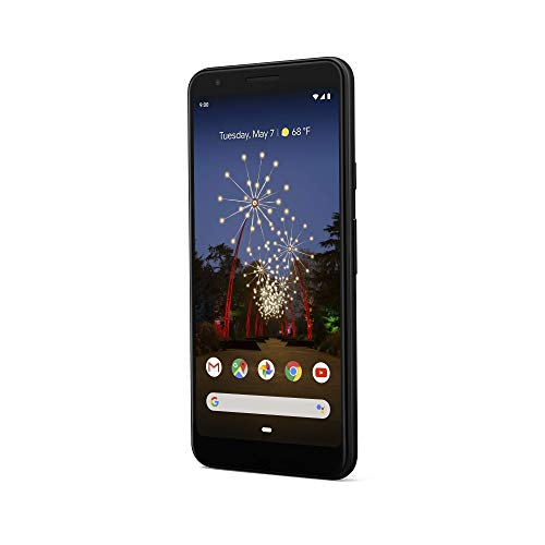 Google - Pixel 3a with 64GB Memory Cell Phone (Unlocked) - Just Black