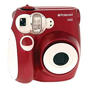 Polaroid PIC-300 Instant Film Camera (Red)