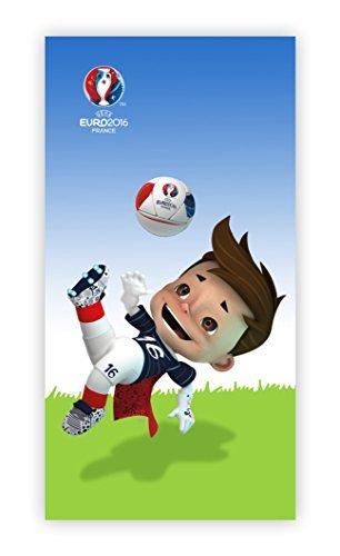 UEFA FÚTBOL EM EUROPA Mascota Toalla Toalla de baño Sauna 75x150cm NUEVO