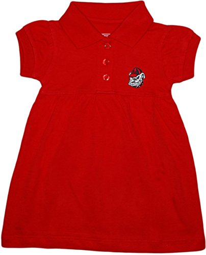 University of Georgia Bulldogs Polo Dress/Bloomer Red