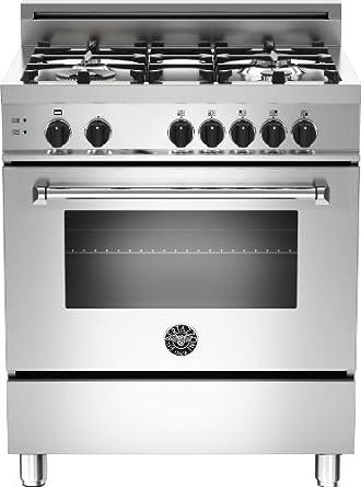 30 gas range dual fuel mas304gasxe bertazzoni master 30 gas range burners natural stainless steel amazoncom burners
