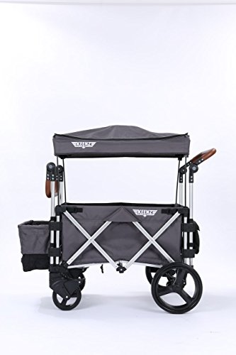 Keenz 7s Stroller Wagon (Grey) by Keenz US