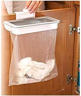 ふく福 掛け式 ゴミ袋収納ホルダー ポリ袋エコホルダー ビニール袋ホルダー テーブルサイドラック キャビネット用 キッチントイレ浴室雑巾掛け 便利 再度使用可能