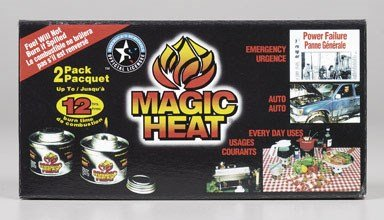 Magic Heat Canned Fuel 2-7 Oz Cans by Scientific Utility Brands