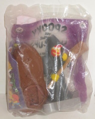 Burger King The SIMPSONS #8 Spooky Light Ups Grounds Keeper WILLY -