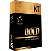 K7 Gold Lifetime Antivirus and Internet Security - 1 PC