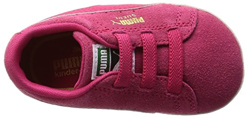 Puma - Patucos de Piel para niña rosa rosa
