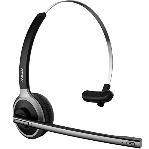 mpow pro 2 v4 1 bluetooth office headset truck driver import it all. Black Bedroom Furniture Sets. Home Design Ideas