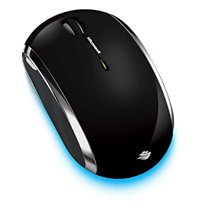 Microsoft Wireless Mobile Mouse 6000 - Black