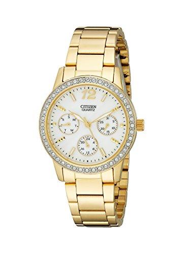 Citizen Women's ED8092-58D Analog Display Japanese Quartz Gold Watch