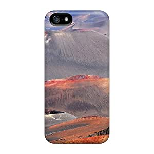 MichelleCumbers Cases Covers Protector Specially Made For Iphone 5/5s Hills Valleys In Multicolour