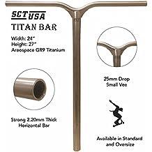 SCT USA Titan Titanium Scooter Bar