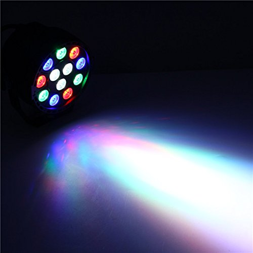 YPINGLI 12W RGB Crystal LED Ball Stage Light Voice Mode Remote Control Light for DJ Disco Halloween Party LED Lights (Color : EU Plug) by YPINGLI (Image #7)
