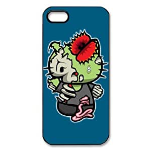 PhoneXover Zombie Hello Kitty Hard Case Cover Skin for Iphone 5 5S