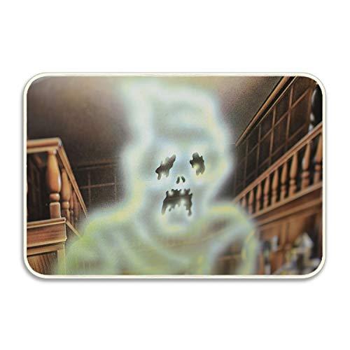 farg Non-Slip Outdoor/Indoor Library Ghost Halloween Doormat 18 × 30