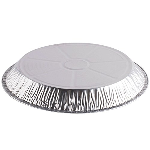 G78 11 11/16'' Extra-Deep Foil Pie Pan - 125/Pack By TableTop King by TableTop King (Image #1)