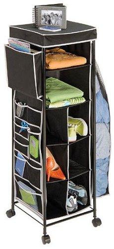 Multipurpose Storage Cart - Black