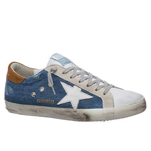 Golden-Goose-Deluxe-Brand-Superstar-BlueDenim-Leather-Mens-Sneaker-G36MS590U60