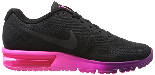 Nike 719916-015, Zapatillas de Trail Running para Mujer Negro (Black / Anthracite Pink Blast Bright Grape)
